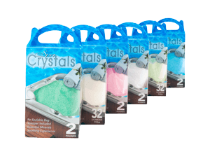 spa crystals list item